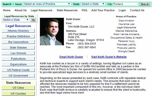 Attorney Directory